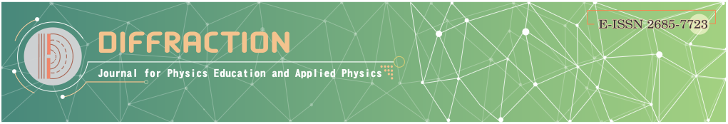 DIFFRACTION: Journal for Physics Education and Applied Physics